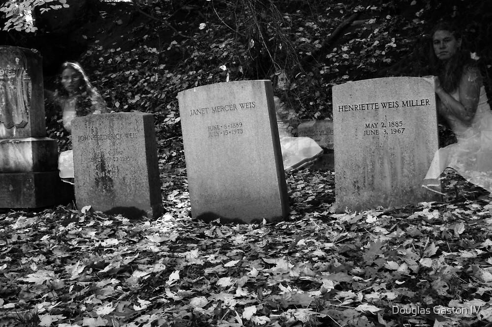 Creepy Cemetery Ghost 3 by Douglas Gaston IV
