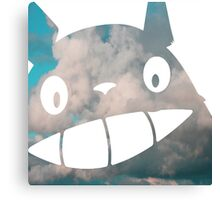 Troll in the Sky - My Neighborn Totoro Canvas Print