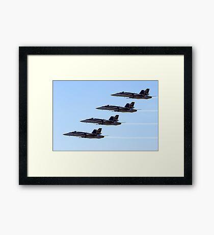 FA-18 Hornets Framed Print