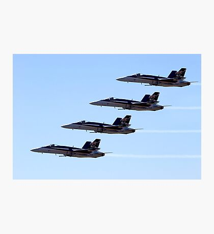 FA-18 Hornets Photographic Print