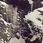Icy Mountainside by daniel pelletier