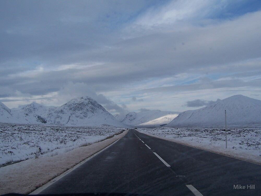 Glen Coe by Mike Hill