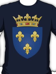 Royal French Coat of Arms, 1376–1515 T-Shirt