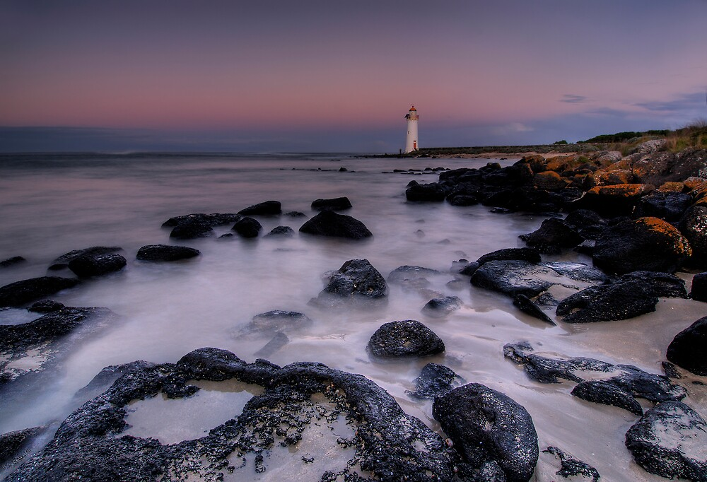 Griffiths Island Lighthouse by Robert Mullner