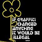 Banksy by froggielevog