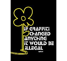Banksy Photographic Print