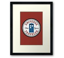 Converse Doctor Who Framed Print