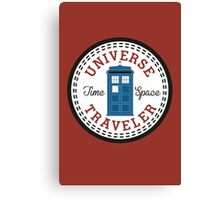 Converse Doctor Who Canvas Print
