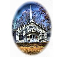 Little Country Church Photographic Print