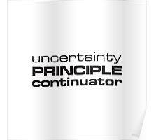 Uncertainty Principle Continuator Poster