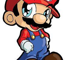 Super Mario Bros. - Mario by 57MEDIA