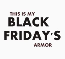 Black Friday's Armor by aelita15