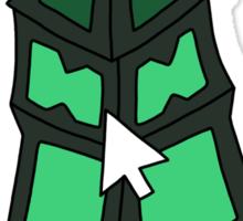 "Thresh - ""CLICK ON THE LANTERN!"" - BLACK TEXT/LIGHT SHIRTS Sticker"
