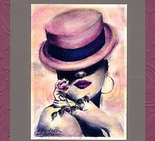 #80 Rose Seduction ~ 1990 Series ©beauTonian arts collection by gabryshak