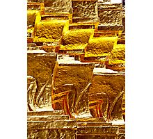 Gilded Wall Photographic Print