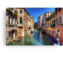 Rio di San Polo Canvas Print