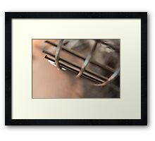 Wire Abstract Framed Print