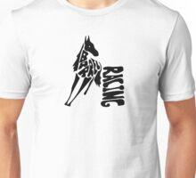 Barrel Racing Word Art Unisex T-Shirt