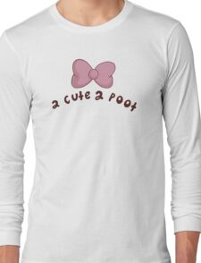 2 Cute 2 Poot: Bee and Puppycat! Long Sleeve T-Shirt