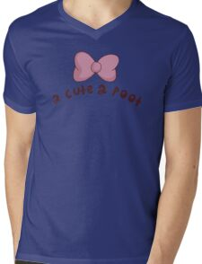 2 Cute 2 Poot: Bee and Puppycat! Mens V-Neck T-Shirt