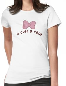 2 Cute 2 Poot: Bee and Puppycat! Womens Fitted T-Shirt