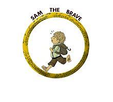 Sam the Brave Photographic Print