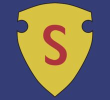 Golden Age Superman symbol by Savage Joe