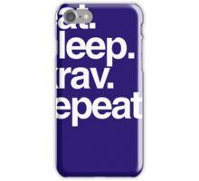Eat Sleep Krav Repeat iPhone Case/Skin