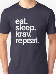 Eat Sleep Krav Repeat T-Shirt