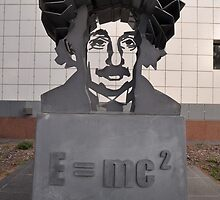 Einstein Sculpture, Canberra, Australia 2013 by muz2142