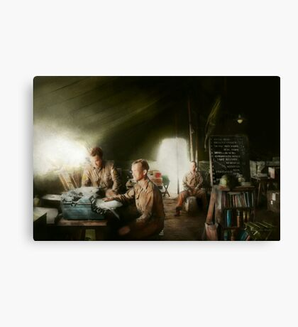 Army - Administration Canvas Print