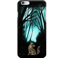 Fox Particles in Woods iPhone Case/Skin