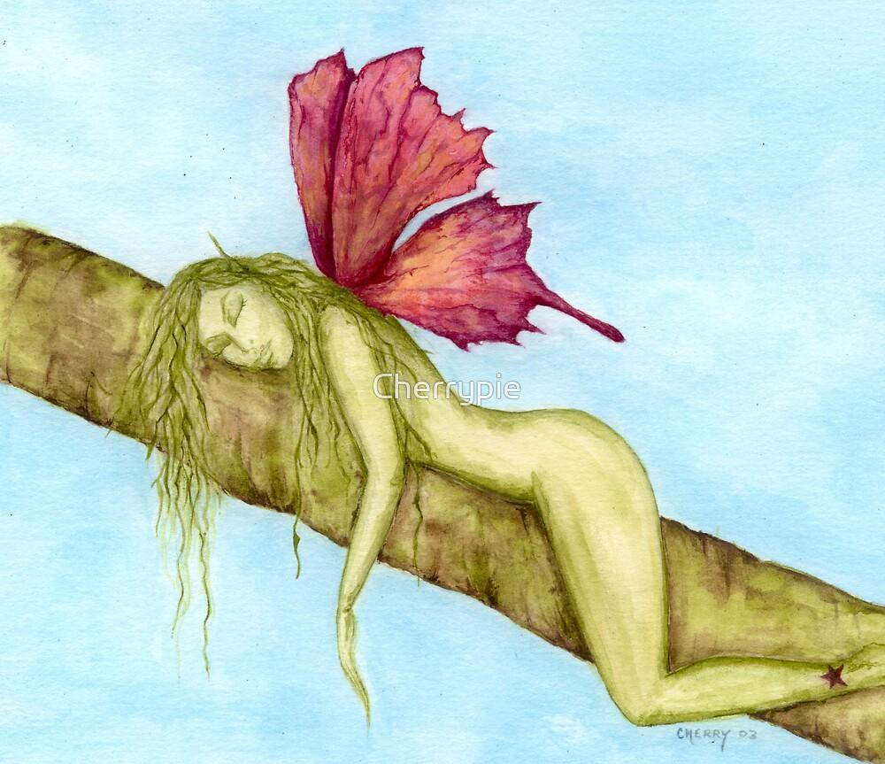 Sleepy lil fae by Cherrypie