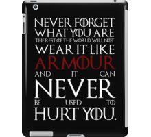 Wear It Like Armour iPad Case/Skin