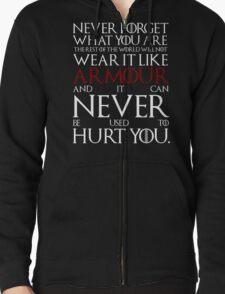 Wear It Like Armour Zipped Hoodie