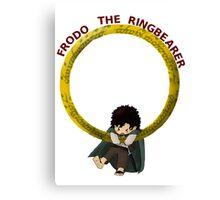 Frodo the Ringbearer Canvas Print