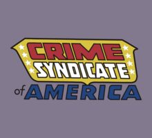 Crime Syndicate of America Kids Tee