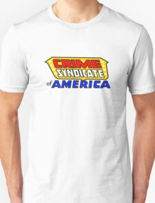 Crime Syndicate of America Unisex T-Shirt
