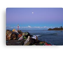 Breakwall  Canvas Print