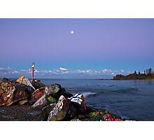 Breakwall  Photographic Print