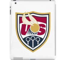 United States of America Quidditch Logo Large iPad Case/Skin
