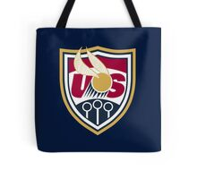 United States of America Quidditch Logo Large Tote Bag
