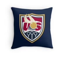 United States of America Quidditch Logo Large Throw Pillow