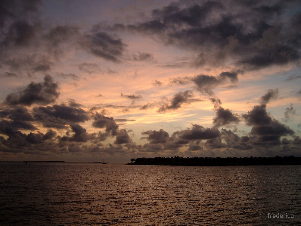 Key West Sunset by frederica