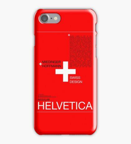 Helvetica iPhone Case/Skin