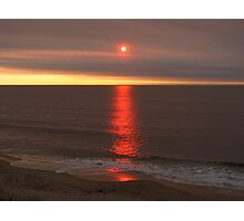 Red Bunbury Sunset Photographic Print