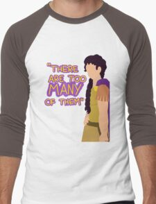 There are too many of them Men's Baseball ¾ T-Shirt