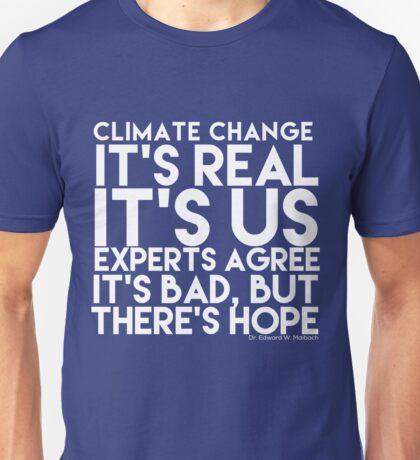 5 Key Facts on Climate Change (Light) Unisex T-Shirt