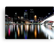 Brisbane River 'Disco'  Canvas Print