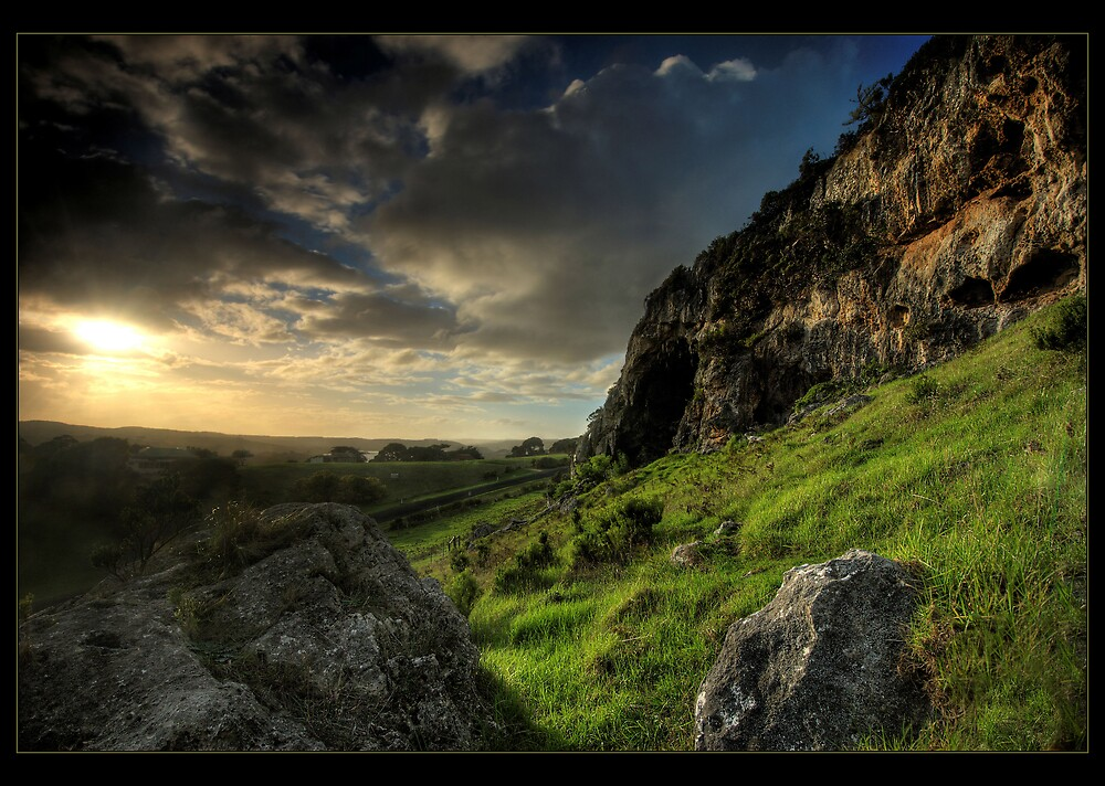 Bridgewater Lake Limestone by Robert Mullner